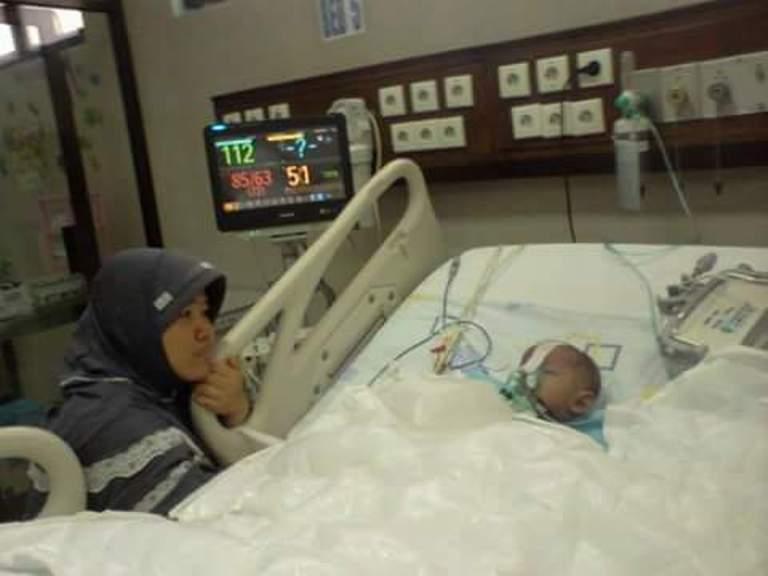 Bocor Jantung, Bocah Haziq Butuh Bantuan untuk Biaya Berobat ke Jakarta