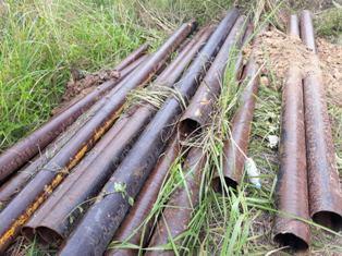 Polisi Ungkap Kasus Pencurian Pipa Besi Milik Chevron