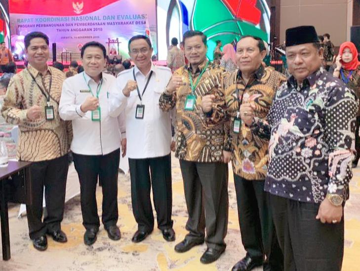 Wardan Hadiri Rakornas Evaluasi P3MD 2018