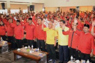 Andi Rachman di Hadapan Kader PDIP: Kalau Terpilih Langsung Tancap Gas