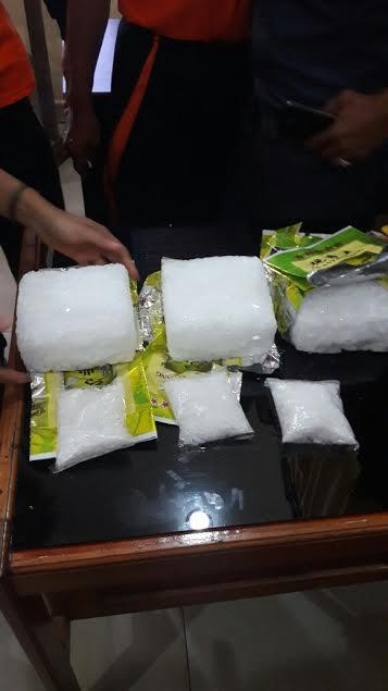 Polisi Amankan Narkotika Jenis Sabu-sabu Rp3 Kg di Dumai