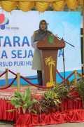 Operasi Katarak Dan Bibir Sumbing, Hj Zulaikha Wardan Paparkan Fungsi K3S Inhil