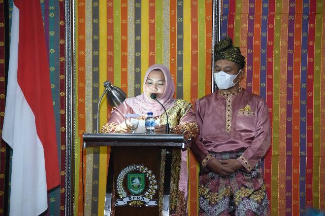Paripurna Istimewa Sampena Hari Jadi Ke - 509 Kabupaten Bengkalis Berlangsung Hikmat dan Terbatas