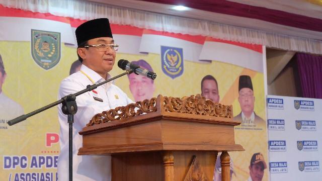 Bupati Kukuhkan Kepengurusan DPC APDESI Inhil Periode 2017 - 2022