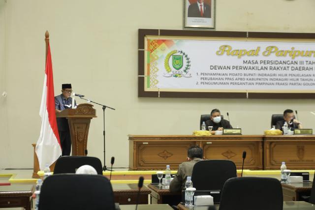 Pemkab Bersama DPRD Inhil Bahas Anggaran Perubahan APBD 2021
