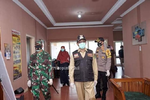 Wardan Sidak Kantor, Pegawai dan Staf Diharapkan Gunakan Masker