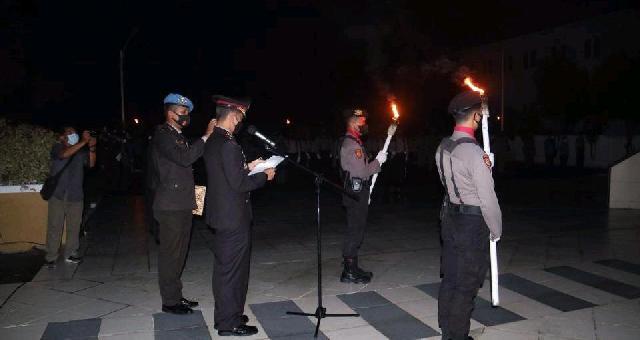 Wakil Ketua DPRD Inhil Ikuti Apel Kehormatan dan Renungan Suci