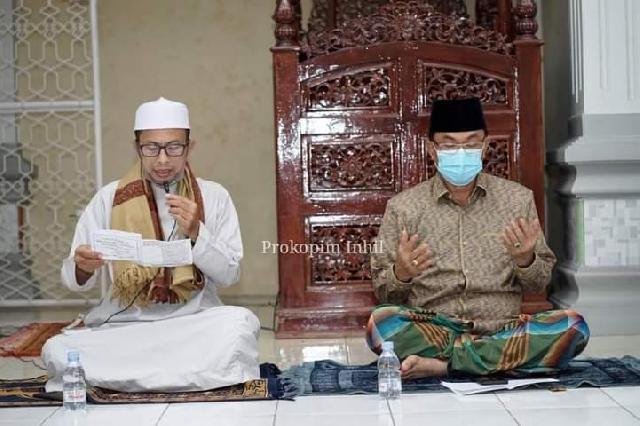 Bupati Wardan Pimpin Istighosah Kubra Secara Serentak di seluruh Mesjid