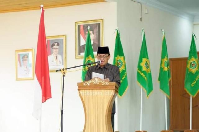 Bupati Wardan Melantik Dewan Hakim MTQ Ke-50 Kabupaten Inhil TH 2020